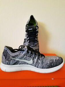 hombre Nib de Black Oreo Free White Flyknit Nike 003 2017 Rn Zapatillas running para 880843 Ua6W8Z8