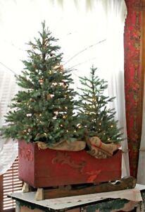 Splendida-SLITTA-natalizia-decorazione-scenografia-Natale-effetto-antico