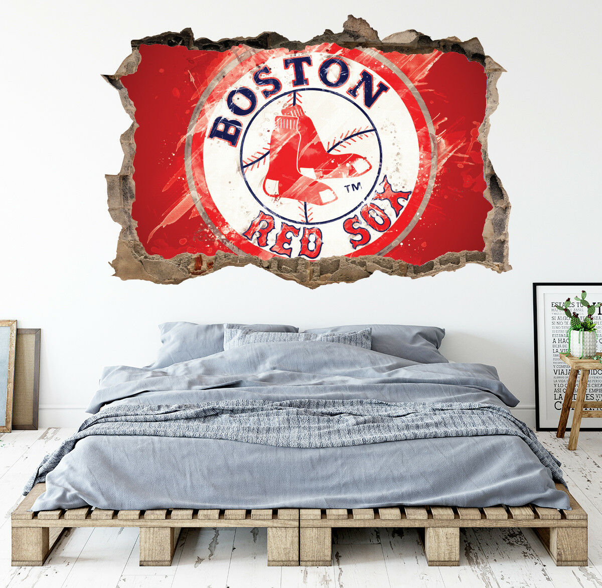 Boston Red Sox Wall Decor from i.ebayimg.com