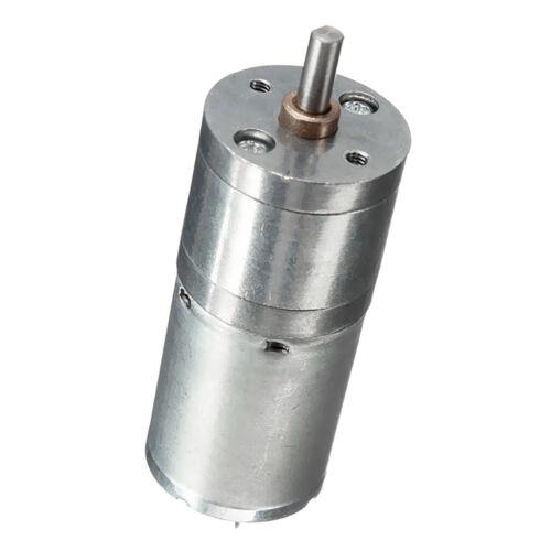 DC6V 1360RPM Réducteur moteur électrique JGA25-370 Réduction pour Smart