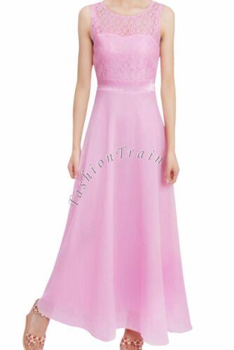 Lace /& Chiffon Flower Girl Party Formal Jr Bridesmaid Dress Long Maxi Skirt 4-14