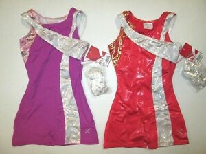 Girls-SC-4-5-Capezio-Biketard-Child-Gymnastics-Dance-Unitard-Leotard-XS-S