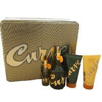 Curve Men Set 4.2 Oz Edc Cologne For Men + Mini + Aftershave + Hair & Body Wash on sale