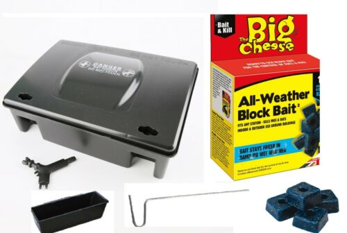 The Big Cheese by STV All-Weather Block Bait Rat Mouse Rodent Poison Killer UK