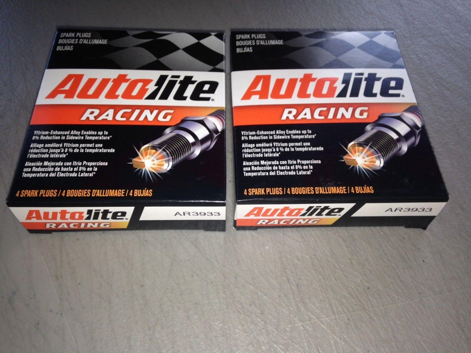 Candela X Escort eight(8) autolite ar3933 racing spark plug set fits champion c59cx ngk r5671a9