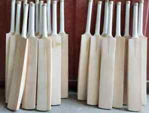 HAND-MADE-ENGLISH-WILLOW-CRICKET-BAT-FULL-SIZE-THICK-EDGES-40-45-mm