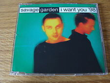 CD Single: Savage Garden : I Want You '98