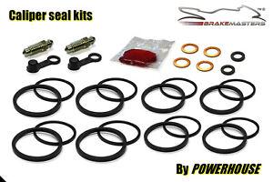 Honda CBR600 RR front brake caliper seal rebuild repair kit 2007 2008 RR7 RR8