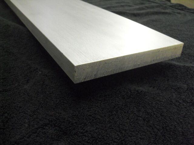 """1/"""" Aluminum Square Bar Rod Stock 12/"""" long 6061-T6 Mill Finish"""
