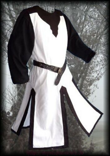 Medival Surcoat Tabart Tunic 10 Colours Middle Ages SCA Larp Reenactment