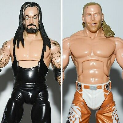 WWE WRESTLING CUSTOM DELUXE CLASSIC SERIES FIGURE ACTION JAKKS TNA WWF UFC