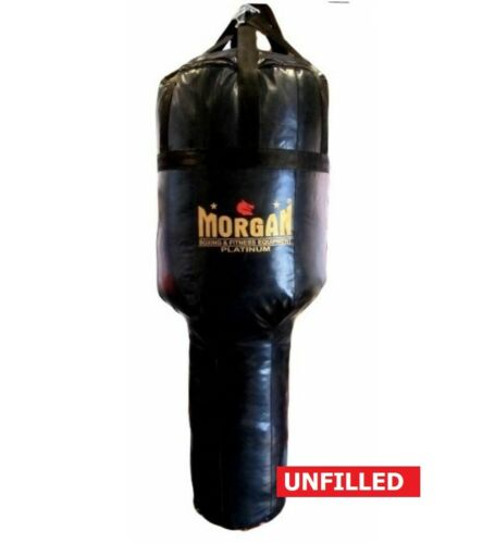 MORGAN Xl Platinum Angle Punch Bag Muay Thai Boxing MMA Punching Bag UNFILLED