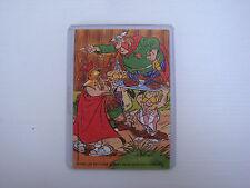 Kinder ancien puzzle Astérix et Obélix 1999 + BPZ avec pochette
