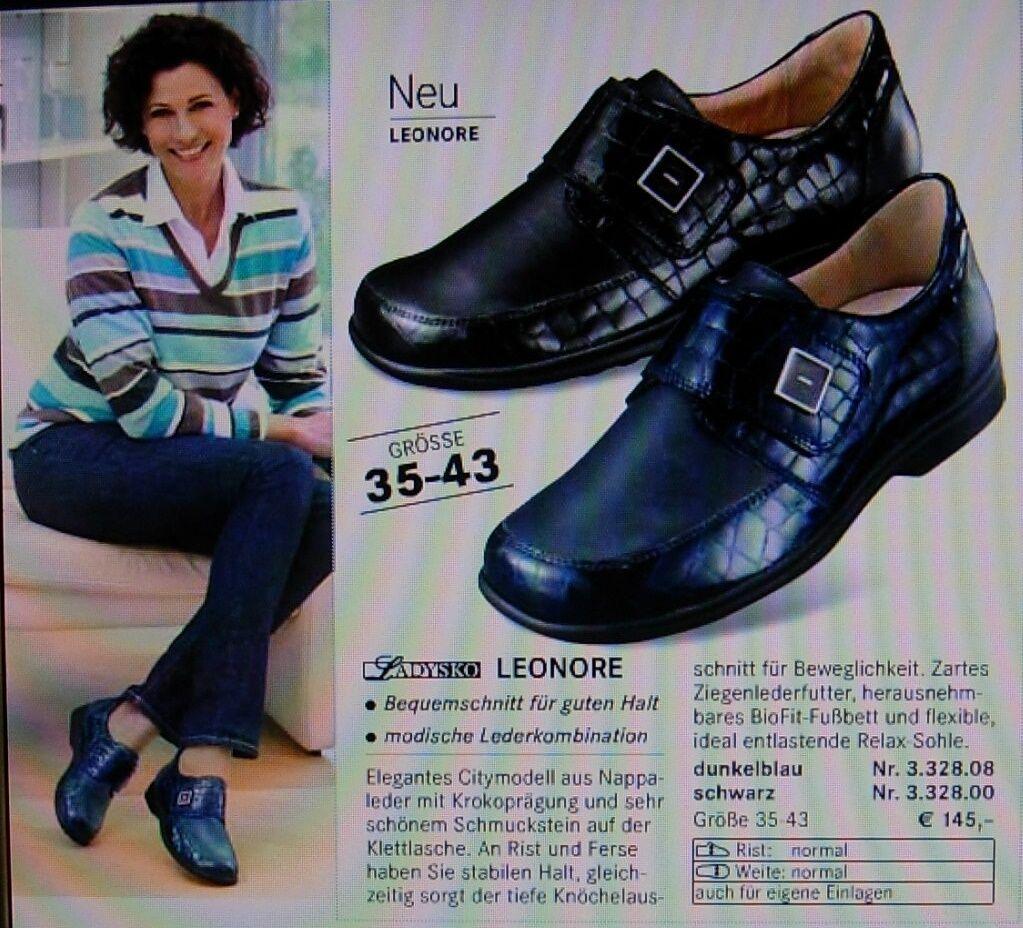 Neue Dunkel Blaue Gr. Ladysko Modell Lenore Schuhe Gr. Blaue 41 Neupreis 4c3df1