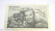 ADESIVO anni '90 vintage / Old Sticker _ MARILYN MONROE (cm 12 x 8) non perfetto