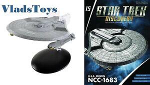 USS-Edison-NCC-1683-Hoover-class-Eaglemoss-Star-Trek-Discovery-Issue-15-w-Mag
