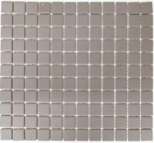 Mosaïque carreau céramique gris non vitré cuisine mur 18B-0211-R10_f ...