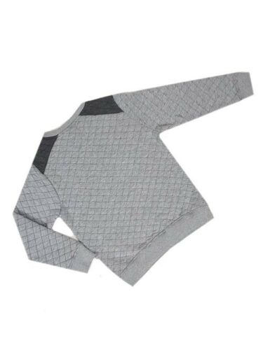 """BOYS /""""EX STORE/"""" QUILTED LONG SLEEVE SWEATSHIRT CASUAL TOP"""