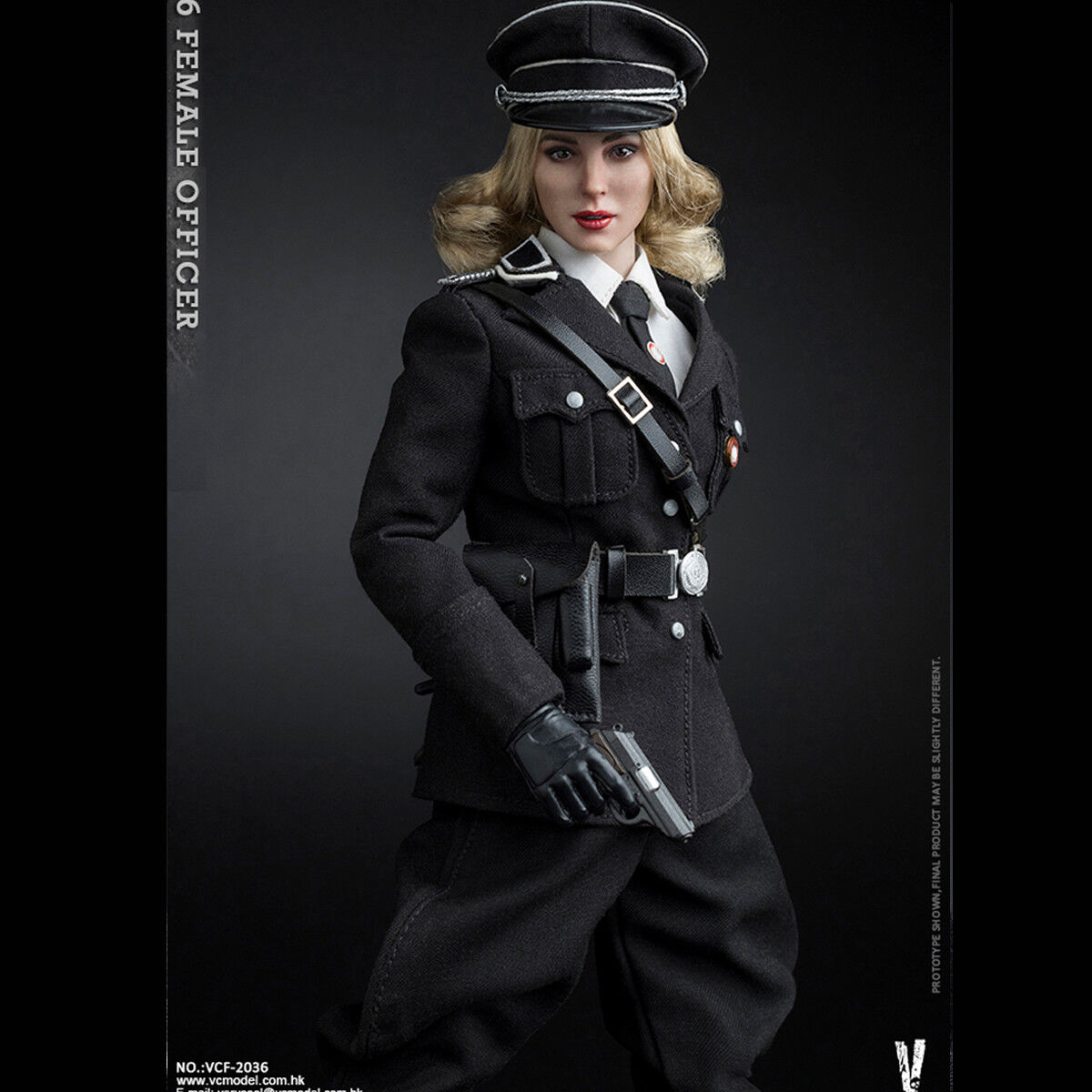 VERYCOOL 1/6 VCF-2036 SS Female Officer Officer Officer Damens Combat Action Figure Collectible 9d889e