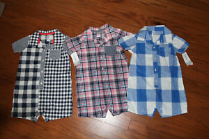 NWT-Carters-Baby-Boy-One-Piece-Outfits-sz-24-Months-Set-of-3-Retail-54