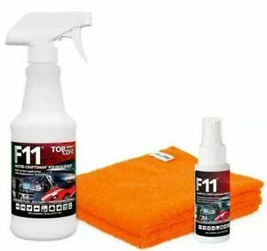 TOPCOAT F11 MASTER-CRAFTSMAN POLISH & SEALER 16oz Bottle 2oz Bottle 2 Towels