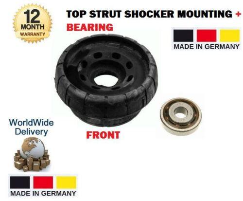 Pour NISSAN PRIMASTAR 1x top ffront strut kit de montage Shocker Ensemble Roulement