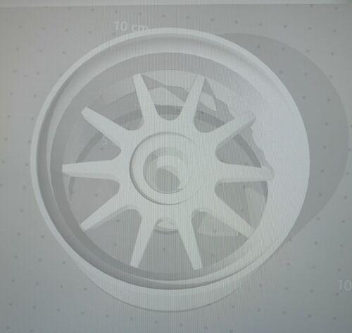 Details about  /Custom 1:64 Scale Clear Resin Enkel J10 Wheels Hot Wheels Matchbox Majorette