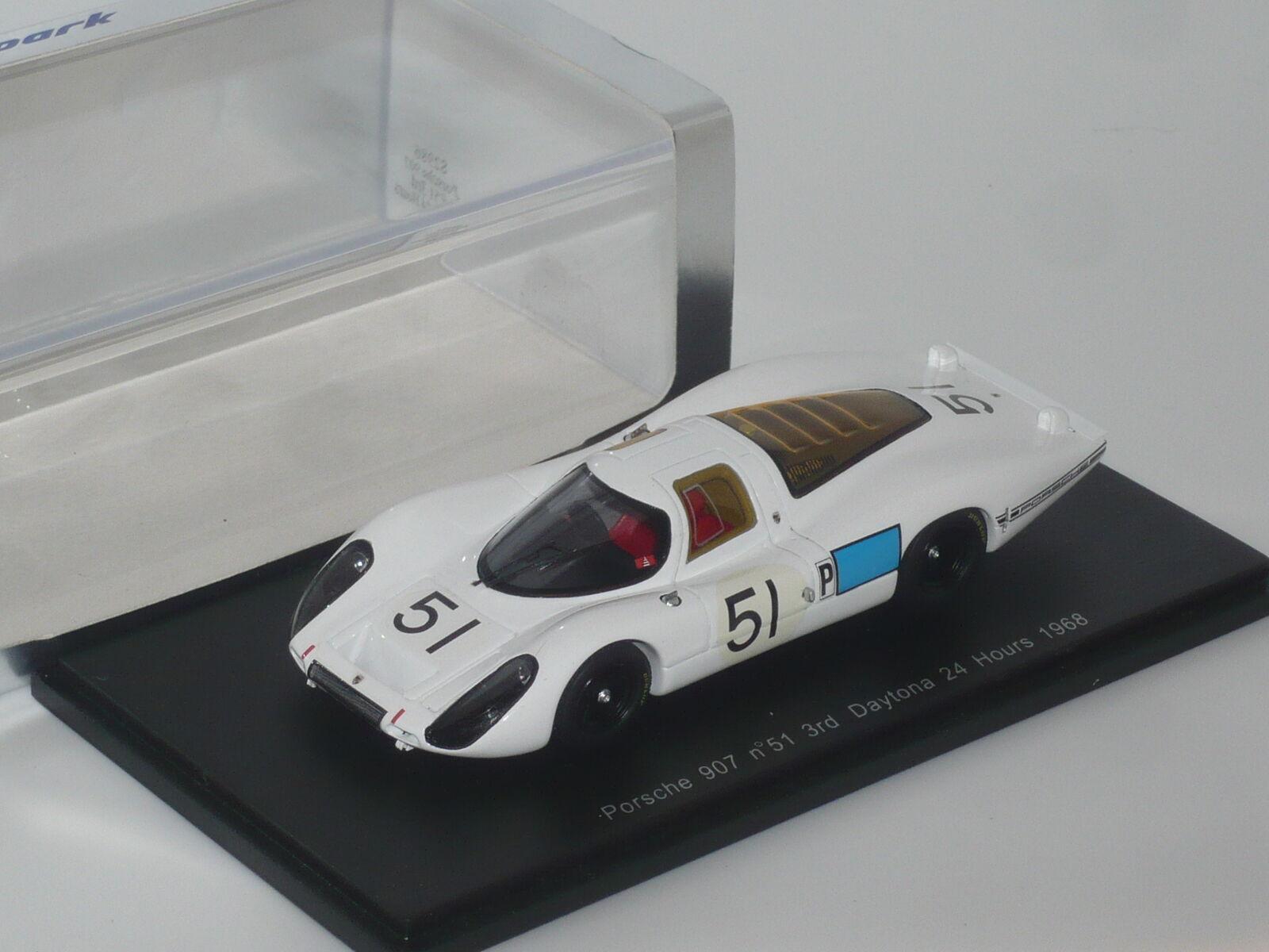 Nuevo 1 43 43 43 Spark Resina Porsche 907 1968 Daytona n Le Mans N 917 908 910 906 935 cb4804