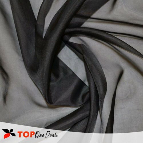 """Plain Voile Net Curtain Fabric 59/"""" Wide Sold By the Meter 150cm /& 118/'/' 300cm"""