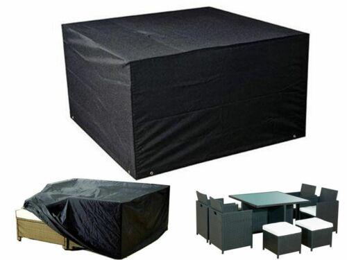 Waterproof Patio Table Cover Furniture Outdoor Garden Bench Rectangle Dust Rain
