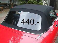 Verdeck für Alfa Spider Cabrio, Stoff, schwarz , neu, Cabrioverdeck