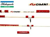 Shakespeare Omni Surf 14ft Beachcaster Beach Sea Fishing Rod 3 Piece Model