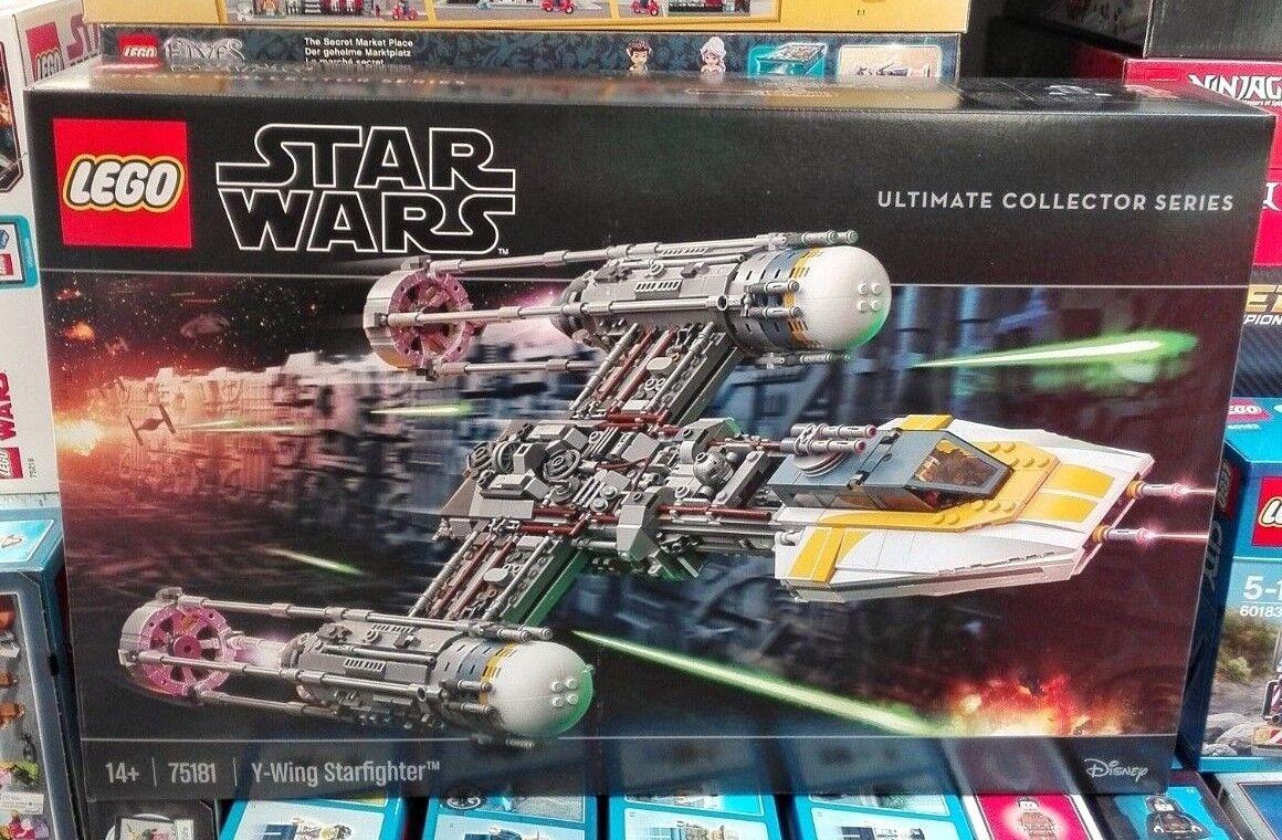 LEGO 75181 - Y-WING estrellaFIGHTER - ULTIMATE  COLLECTOR SERIES - estrella guerras - NUOVO  spedizione gratuita in tutto il mondo