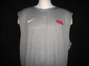 hot sale online 04efb f0d89 Image is loading Nike-Ole-Miss-Dri-Fit-S-L-Legend-Tee-