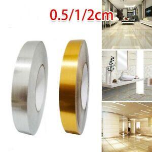 UK 50M Ceramic Tile Mildewproof Gap Tape Floor Cover Tape Wall Sticker Adhesive