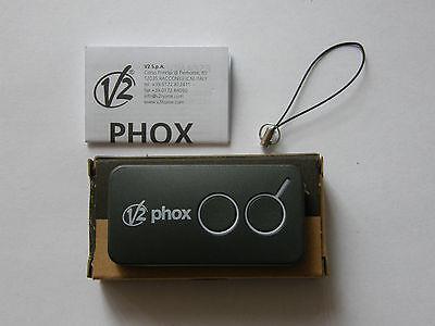 V2 PHOX2 La nuova versione di V2 PHOENIX2 Radiocomando 433,92MHz Rolling code