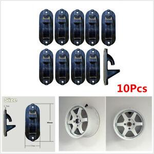 10pcs Tire Wheel Rim Hub Hook Wheel Display Stand Rack