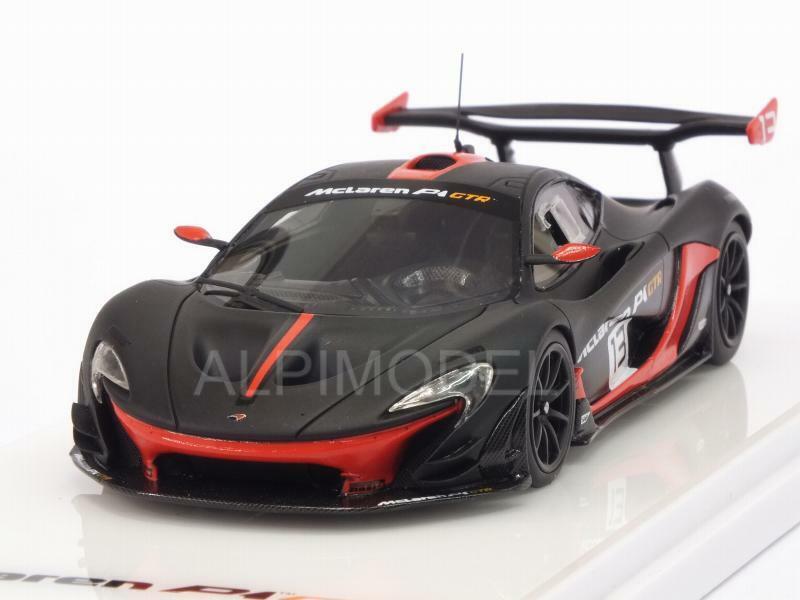 McLaren P1 GTR grigio arancia 1 43 TRUESCALE TSM430157