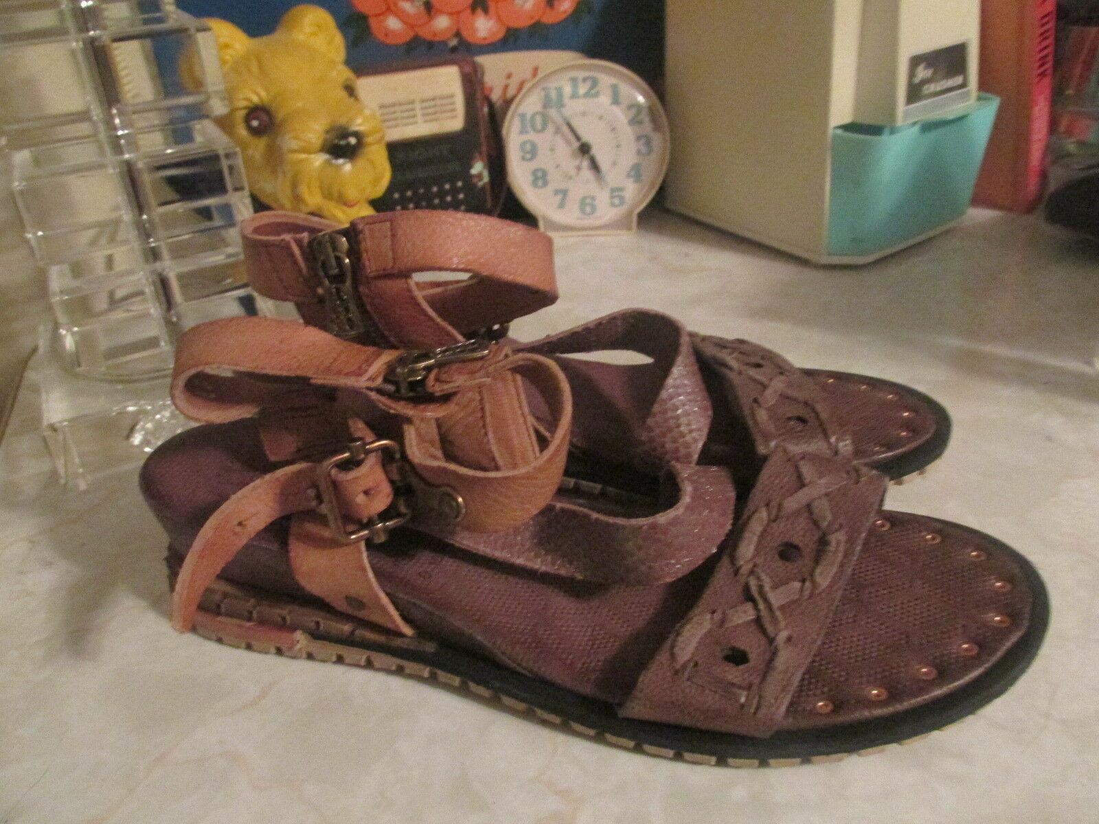AS 98 punch sandals NWOB size EU 41