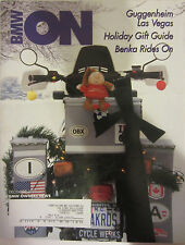 BMW Owners News Magazine December 2001 Guggenheim Las Vegas Benka Rides On