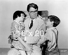 "To Kill A Mockingbird~Gregory Peck~Entertainment Room~Poster~Photo~ 16"" x  20"""