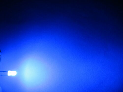 10x 3mm LED rond diffuse très lumineux diode résistance 3mm
