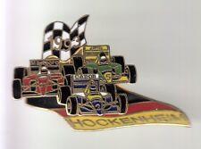 RARE PINS PIN'S .. AUTO CAR F1 CANON CAMEL MARLBORO HOCKENHEIM 1993 BIG 3D ~DH