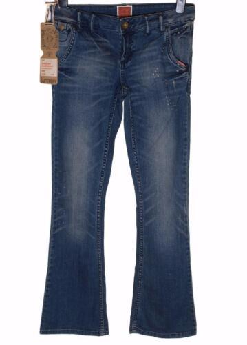 "NUOVA linea donna Superdry Angelina Skinny Boot jeans denim stretch W28/"" L32/"" RRP £ 74.99"