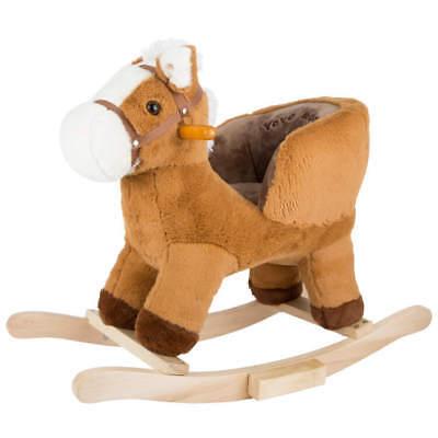Amichevole Cavallo A Dondolo Per Bambini Con Sedile