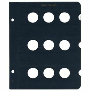 Whitman Coin Album Page Blank 25mm