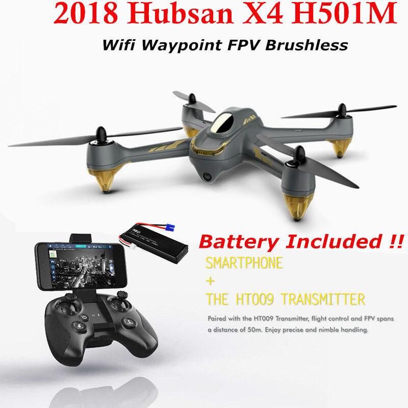 Hubsan H501M X4 FPV Brushless RC Quadcopter 720P APP Follow Me GPS Drone RTF US
