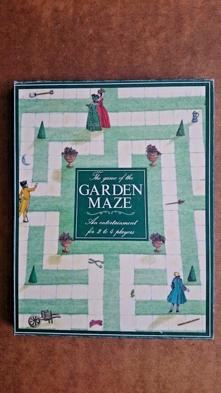 The Game of the Garden Maze By Oxford Games 1990
