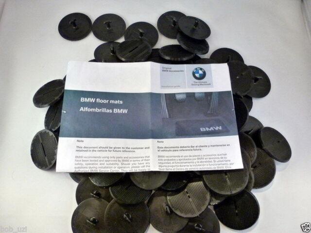 New BMW E60 E61 E63 E64 X3 E83 Floor Mat Carpet Holder Mounting Lock 51477128140