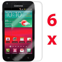 6 Samsung Galaxy S 2 II S2 Epic 4G Touch D710 Clear LCD Screen Protector Cover